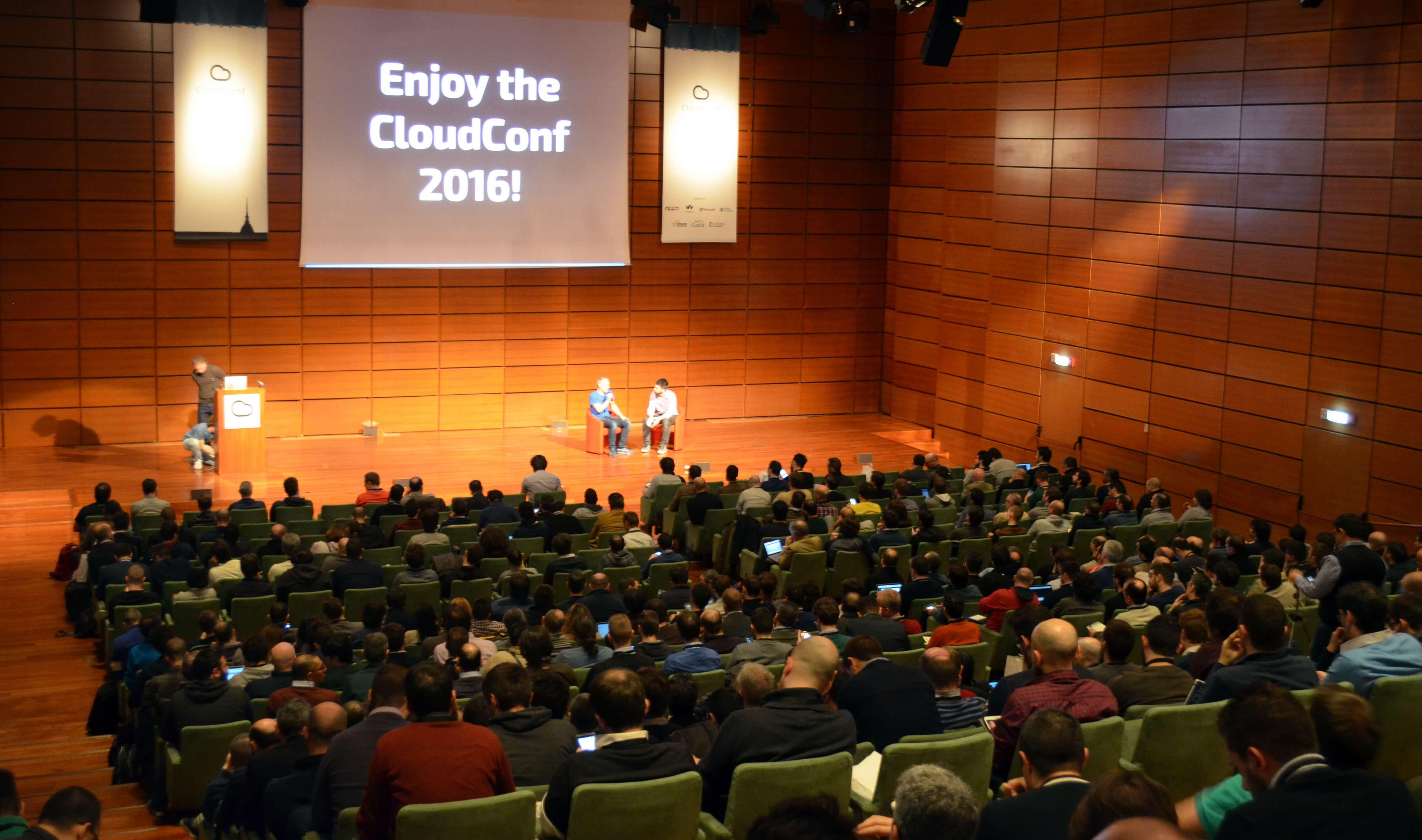 neen sponsor alla Cloud Conf 2016